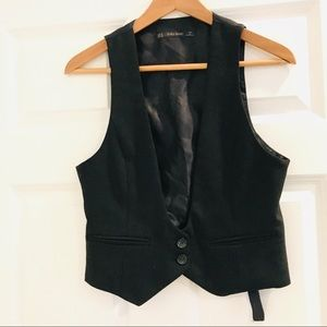 Zara 90s fitted vest
